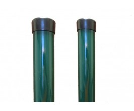 Stľpik okrúhly zelený 38mm, výška 150cm